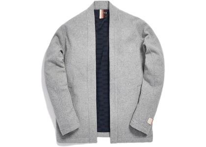 Kith Kimono Blazer Jacket Light Heather Greyの写真