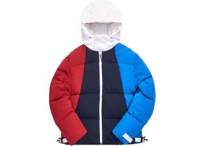 Kith Colorblocked Puffer Jacket Blue/Multiの写真