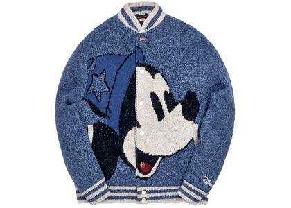 Kith x Disney Varsity Jacket Navyの写真