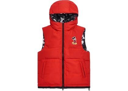 Kith x Disney Bristol Down Puffer Vest Redの写真