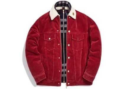 Kith Corduroy Laight Jacket Redの写真