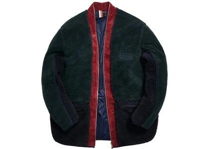 Kith Sherpa Kimono Jacket Forestの写真