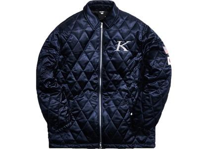 Kith x Nobu Coaches Jacket Navyの写真
