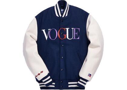 Kith x Golden Bear x Vogue Varsity Los Angeles Jacket Royalの写真