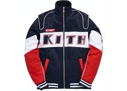 Kith x Disney Twill Racing Jacket Redの写真