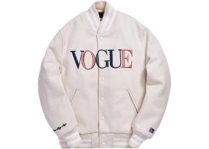 Kith x Golden Bear x Vogue Varsity Miami Jacket Naturalの写真