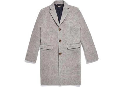 Kith Royce Wool Overcoat Light Greyの写真