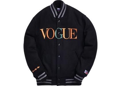 Kith x Golden Bear x Vogue Varsity Soho Jacket Blackの写真