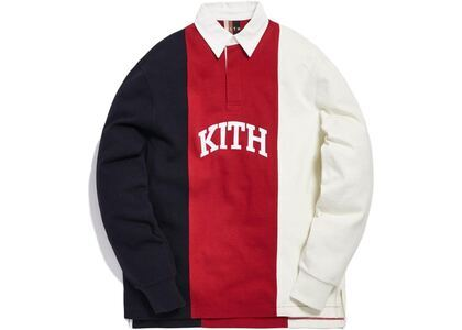 Kith Colorblock Rugby Jersey Redの写真