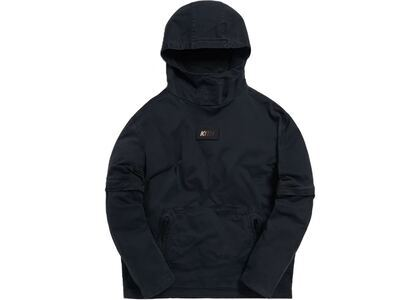 Kith Convertible Double Pocket Hoodie Soft Blackの写真