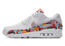 NIKE AIR MAX 90 NIC QS WHITE/MULTI-COLORの写真