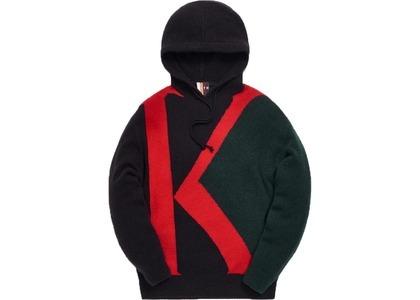 Kith Initial K Mock Sweater Hoodie Dark Green/Multiの写真