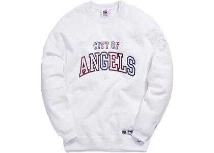 Kith x Russell Athletic x Vogue Los Angeles Crewneck Whiteの写真