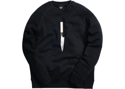 Kith x Nobu Knife Sweatshirt Blackの写真