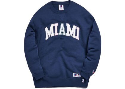 Kith x Russell Athletic x Vogue Crewneck Insignia Blueの写真