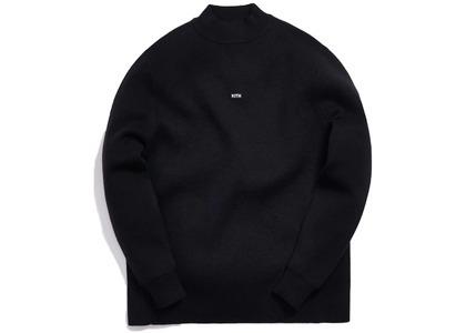 Kith Knit L/S Mock Neck Blackの写真