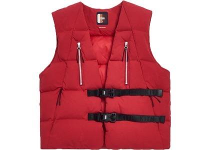 Kith Padded Utility Vest Scarlet Sageの写真