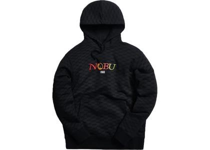 Kith x Nobu Multi Logo Hoodie Blackの写真