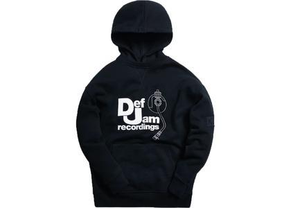 Kith x Def Jam Hoodie Blackの写真