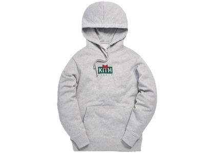 Kith Treats Gift Classic Logo Hoodie Heather Greyの写真