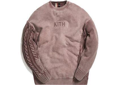 Kith Combo Knit Crewneck Cinderの写真