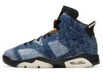Nike Air Jordan 6 Retro Washed Denim (GS)の写真