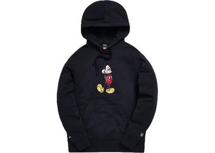 Kith x Disney 90s Classic Mickey Crystal Hoodie Blackの写真