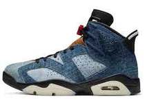 Nike Air Jordan 6 Retro Washed Denimの写真