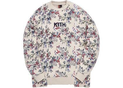 Kith Floral Panel Crewneck Ivory/Multiの写真