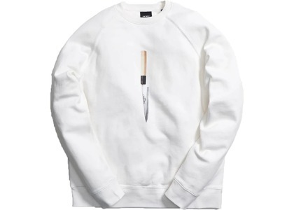 Kith x Nobu Knife Sweatshirt Whiteの写真