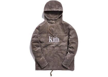 Kith Corduroy Double Pocket Hoodie Cinderの写真
