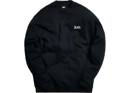 Kith Classic Crewneck Blackの写真