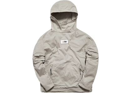 Kith Convertible Double Pocket Hoodie Cementの写真