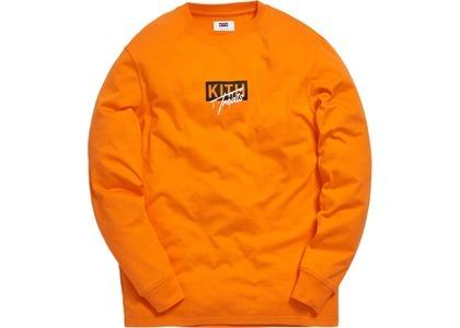 Kith Treats Kith or Treat LS Tee Neon Orangeの写真