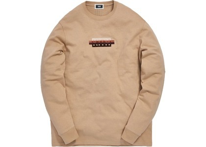 Kith Strike Through Panel L/S Tee Ancient Fossilの写真