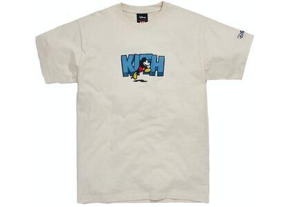 Kith x Disney Running Mickey Tee Turtledoveの写真