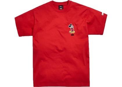 Kith x Disney 90s Classic Logo Mickey Tee Redの写真