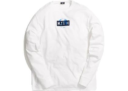 Kith One World L/S Tee Whiteの写真