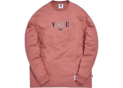 Kith x Russell Athletic x Vogue L/S Tee Old Roseの写真