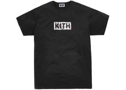 Kith Floral Classic Logo Tee (FW19) Blackの写真