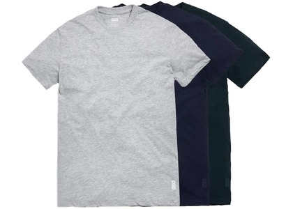 Kith Undershirt 3 Pack Heather Grey/Scarab/Navyの写真