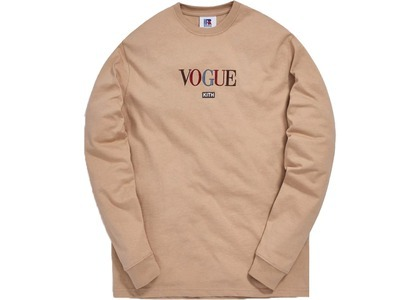 Kith x Russell Athletic x Vogue Brooklyn L/S Tee Sesameの写真