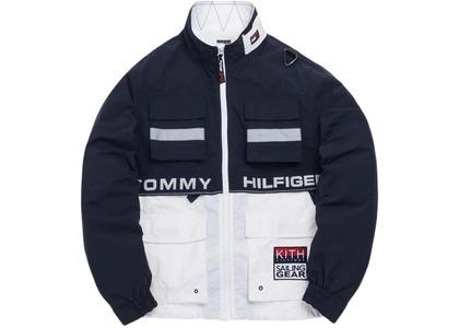 Kith x Tommy Hilfiger Sailing Utility Jacket Navy/Whiteの写真