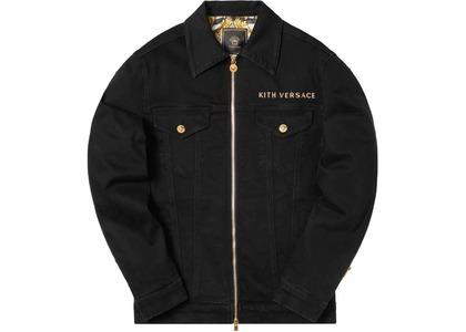 Kith x Versace Medusa Denim Jacket Blackの写真
