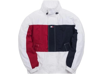 Kith x Tommy Hilfiger Colorblock Sailing Jacket Whiteの写真