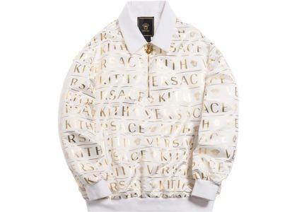 Kith x Versace Quarter Zip Pullover Whiteの写真
