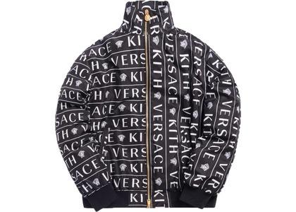 Kith x Versace Monogram Track Jacket Blackの写真