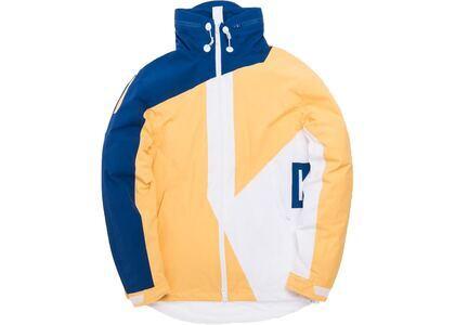 Kith Madison Jacket Yellow/White/Royalの写真
