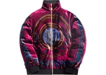 Kith x Versace Reversible Track Jacket Burgundyの写真