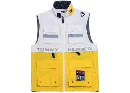 Kith x Tommy Hilfiger Sailing Utility Vest White/Yellowの写真